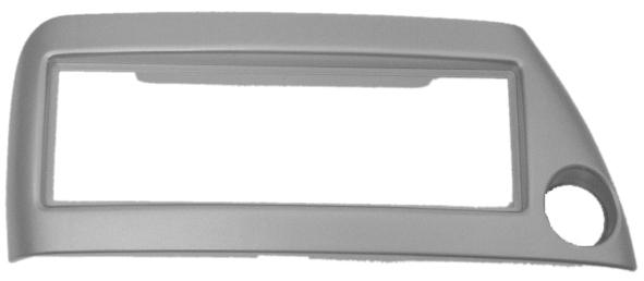 ISO redukce pro FORD Ka (šedo-stříbrná)