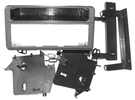 ISO redukce pro Toyota Avensis, Verso, RAV 4 8/2000-2005, Celica