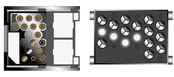 Kabeláž pro HF PARROT/OEM BMW old - kulaté piny, Rover