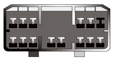 Konektor ISO Hyundai
