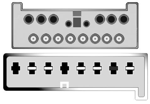 Konektor ISO VW Sharan, Ford Galax