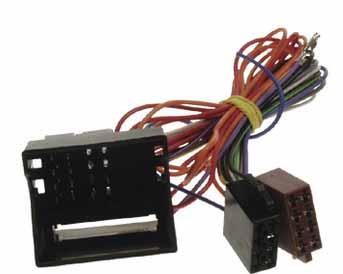 Anténní adaptér FAKRA+MOST konektor/ISO