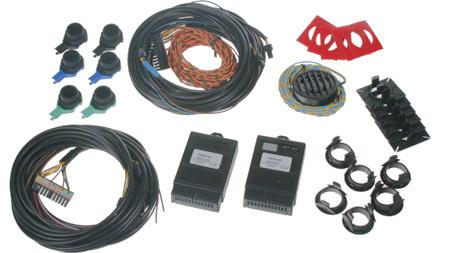 Parkovací senzor zadní (4 čidla) + přední (2 čidla)