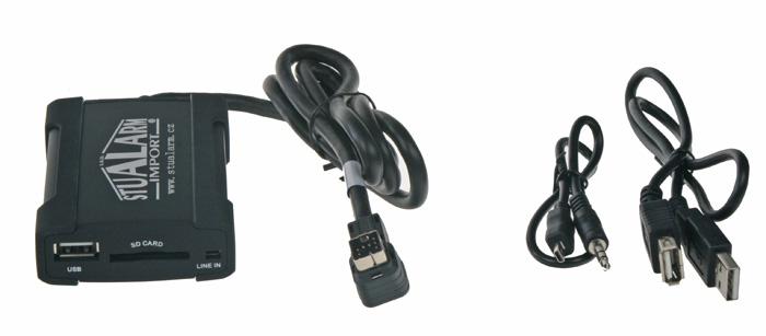 Adaptér pro ovládání USB zařízení u rádií Clarion CE-net/Suzuki, Mazda, Chevrolet