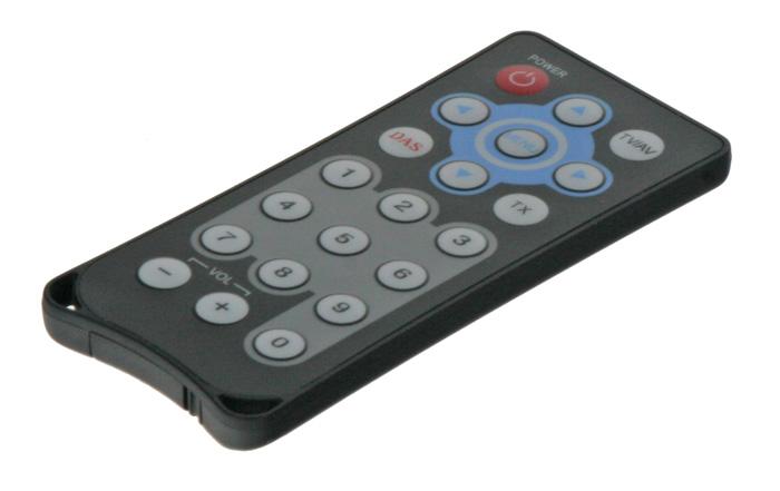 Dálkový ovladač k DVB-T TV tuner