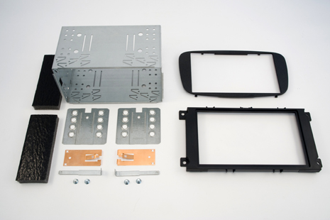 2DIN redukce pro Ford Mondeo 2007-, Focus 02/2008-11/2010, S-MAX 2007-, C-MAX 2007-11/2010