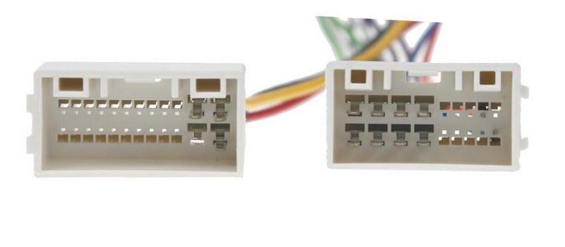 Konektor ISO Hyundai IX35 2010-, Kia Sportage 10- s USB a AUX připojením