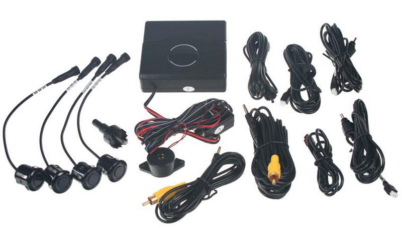 Parkovací systém (4 čidla) s výstupem na monitor