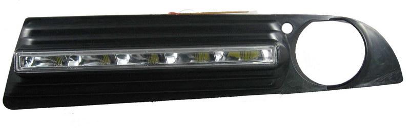 LED světla pro denní svícení BMW E60 5 series 04-07, ECE