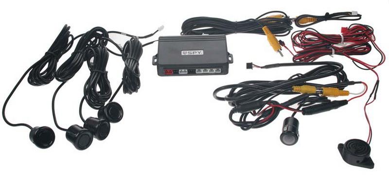 Parkovací systém s kamerou a výstupem na LCD