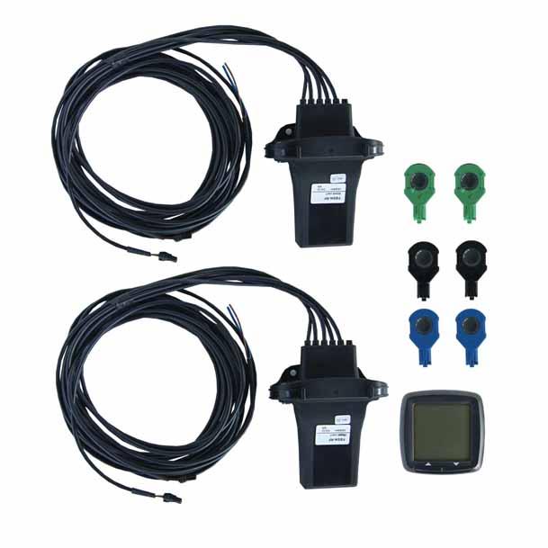 Parkovací senzor zadní (4 čidla) + přední (2 čidla) + displej