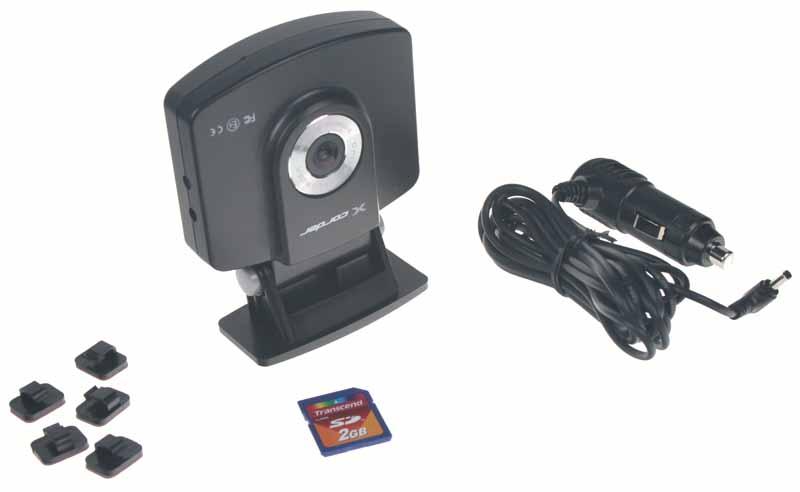 Černá skříňka - Kamera se záznamem obrazu, GPS