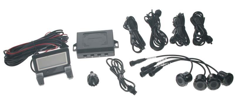 Parkovací systém 4 senzorový s výklopným LCD displejem