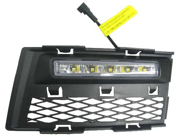 LED světla pro denní svícení Audi A4 B7 2005-08, ECE