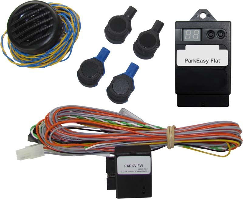 Parkovací senzor zadní - 4 čidla pro VW/Škoda/Seat/Ford/Fiat/Alfa Romeo/Peugeot