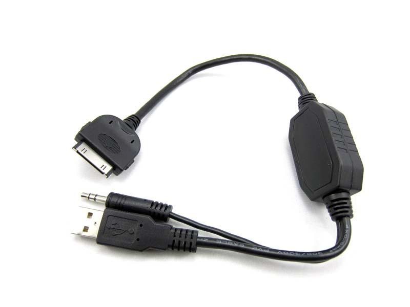 Redukce pro adaptéry 55xc z USB+Jack 3,5mm na iPod (iPhone)