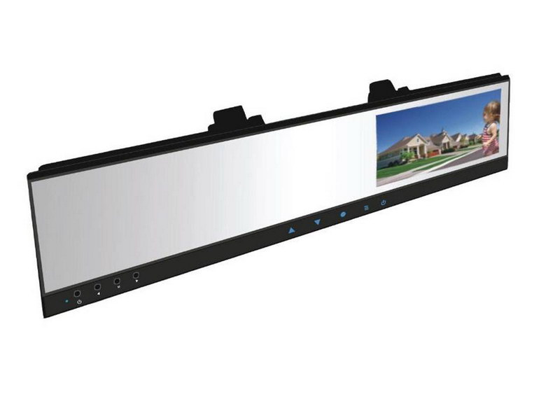 "LCD monitor 4,3"" na zrcátko s DVR kamerou"