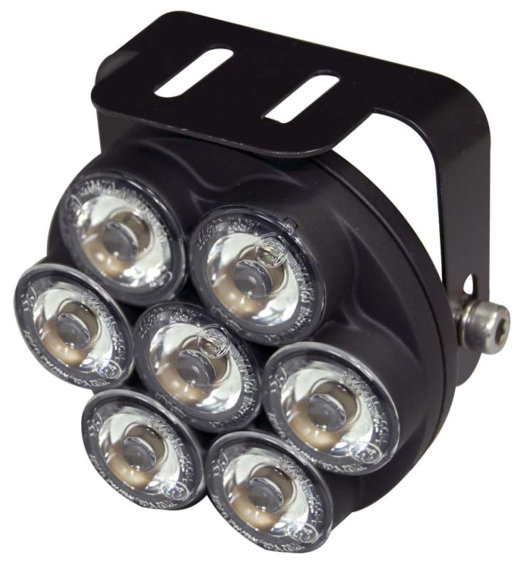 LED světla pro denní svícení, kulatá 75mm, ECE