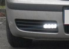 LED světla pro denní svícení Škoda Octavia I, ECE