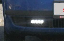 LED světla pro denní svícení Škoda Fabia I, ECE