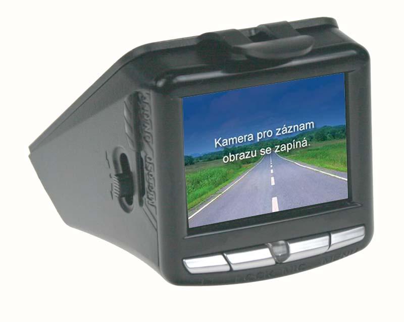 """HD černá skříňka - Kamera se záznamem obrazu, GPS, 2,4"""" LCD,ČESKÉ MENU"""