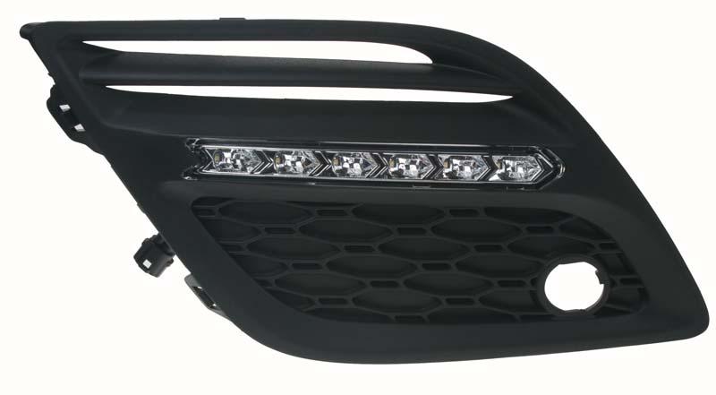 LED světla pro denní svícení Volvo XC-60 09-12, ECE