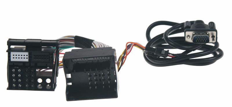 Adaptér pro ovládání USB zařízení OEM rádiem Opel/AUX vstup