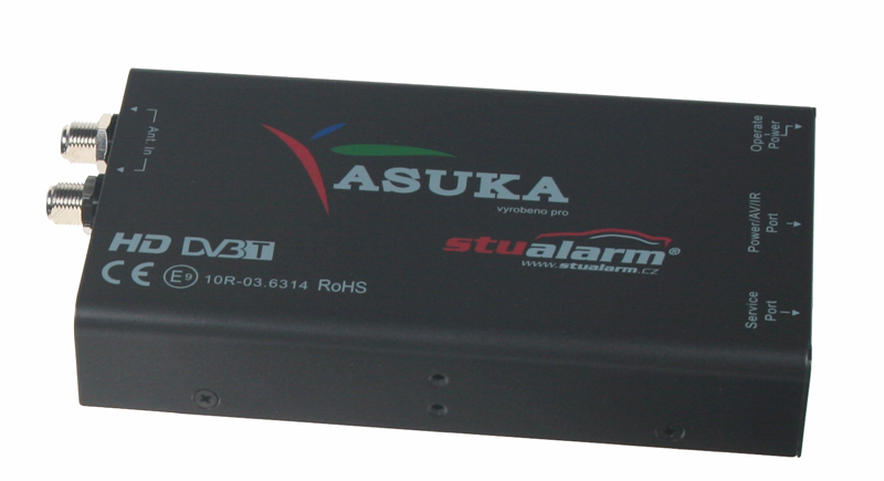DVB-T digitální tuner Asuka s USB