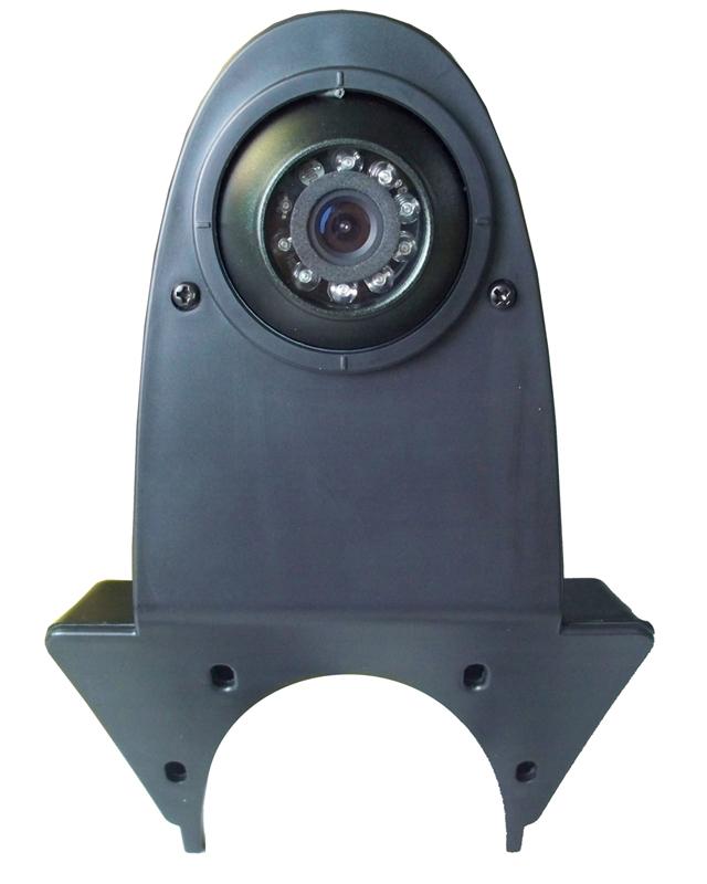 Kamera CCD s IR světlem, vnější pro dodávky nebo skříňová auta