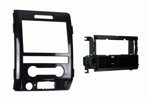 METRA ISO redukce pro Ford F150 2009-12, lesklá černá