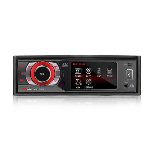 "NAKAMICHI autorádio DVD/CD/SD/USB,Bluetooth + 3"" monitorem"