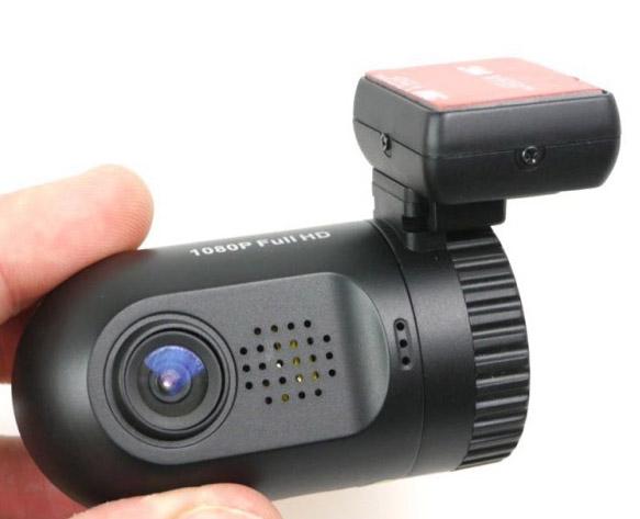 """Miniaturní FULL HD kamera, GPS + 1,5"""" LCD, LDW, FCWS, HDR"""