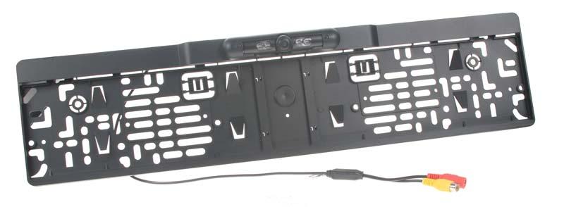 Kamera CCD s rámečkem pro SPZ PAL