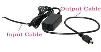 měnič napětí 12-24/5V, 2,5A Mini USB