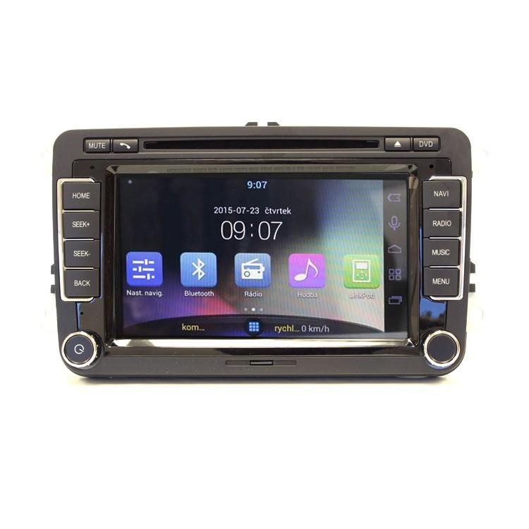 Multimediální rádio Android 4.1 pro VW/ŠKODA RR-VW02