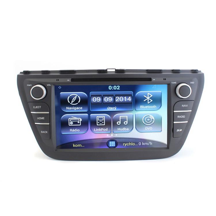 Multimediální rádio pro Suzuki S-Cross RR-SCROSS