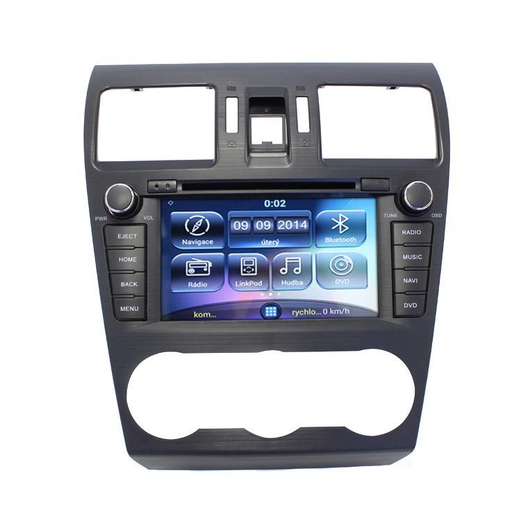 Multimediální rádio pro Subaru Forester a XV, RR-SFOR